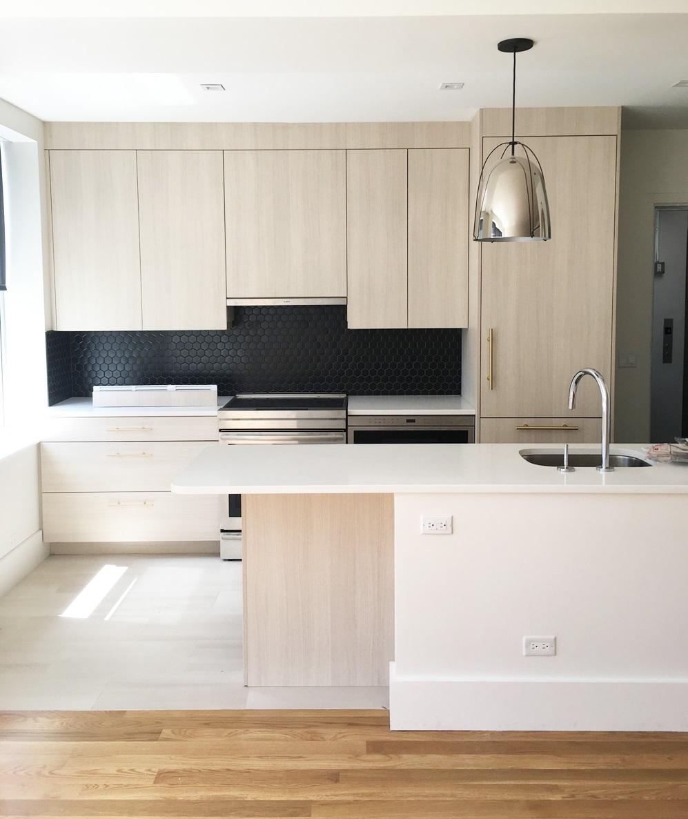NY Apartment Kitchen Cabinets
